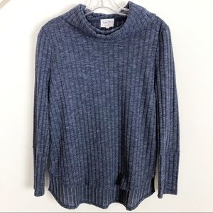 Sweet Tea's by Pink Rose Ribbed Sweater - Size L